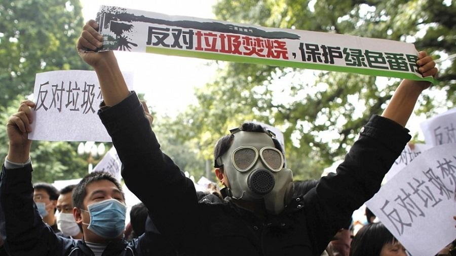 Protests in Guangzhou