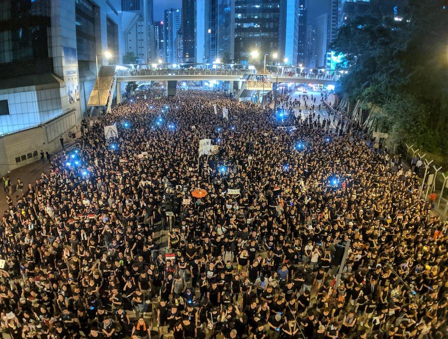 2019 Hong Kong anti-extradition bill protest