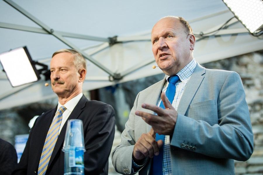 Mart Helme, leader of Estonian far-right party EKRE