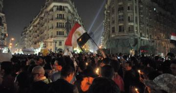 Candlelit vigil for victims of 2011 Maspero protests